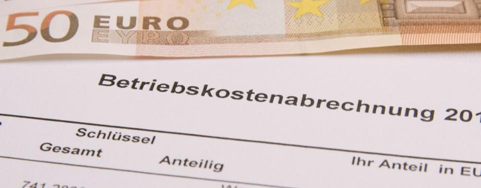 Betriebskostenabrechnung: Kostenpositionen dürfen nicht einfach zusammengefasst werden