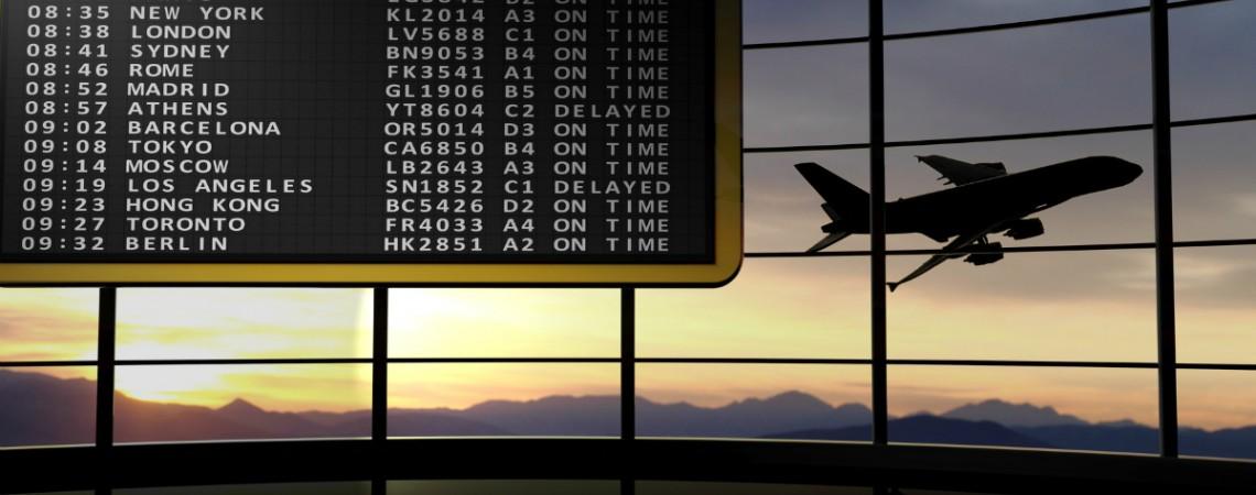 Keine Ausgleichsleistungen bei Flugverspätung wegen Schlechtwetter