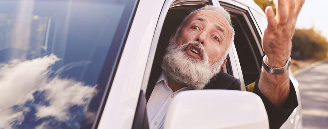 Fahrverbot für streitsüchtigen Rentner