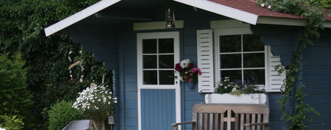 Gartenhäuschen: Wenn Nachbarn über Ästhetik streiten