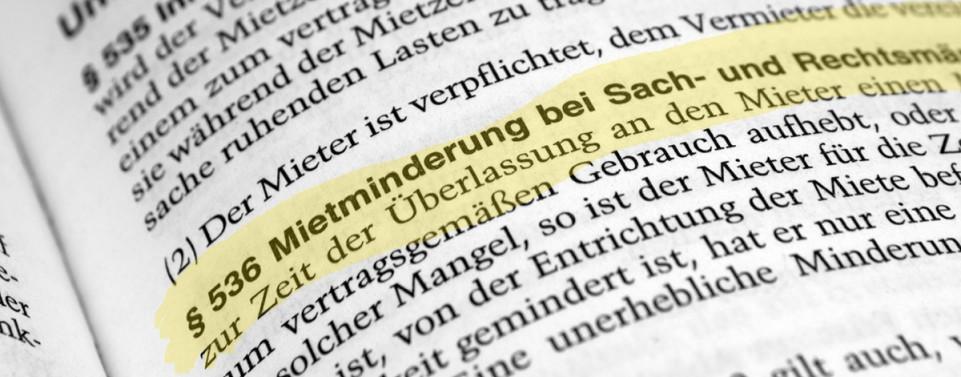 Mietmangelbeseitigung fehlgeschlagen: Keine weitere Mietminderung ohne Anzeige