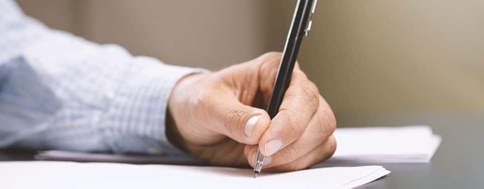 Rechtshänder kann zur Not eigenhändiges Testament auch mit links schreiben
