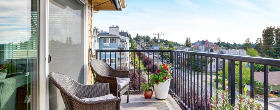 Wohnflächenberechnung: Balkon zählt nur zu einem Viertel