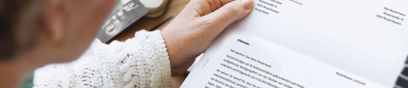 Antrag Aufhebung Arbeitsvertrag Muster